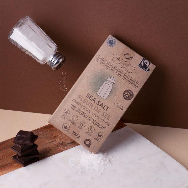 Fairtrade - Dark Chocolate Sea Salt