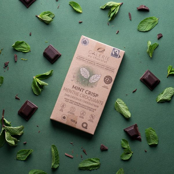 Fairtrade - Dark Chocolate Mint Crisp