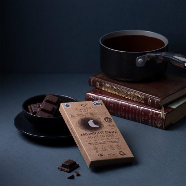 Fairtrade - Dark Chocolate 72% Midnight Dark