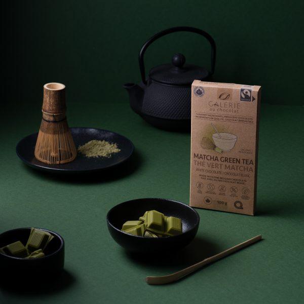 Fairtrade - White Chocolate Matcha Green Tea