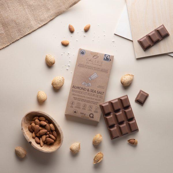 Fairtrade - Milk Chocolate Almond & Sea Salt