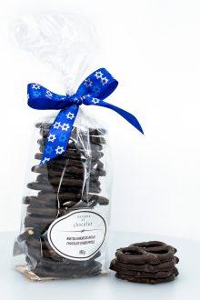 Pareve Chocolate Covered Pretzels
