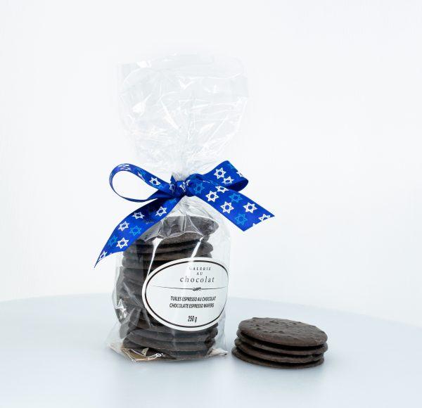 Pareve Dark Chocolate Espresso Wafers 250g