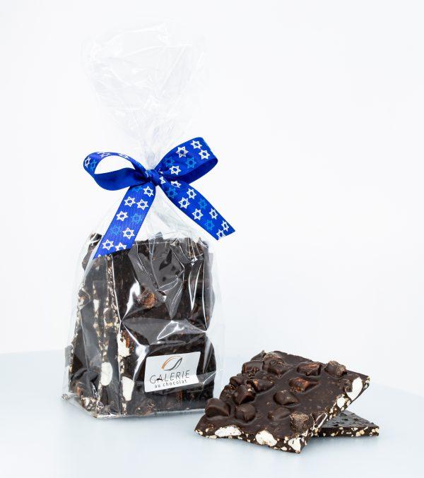 Pareve Dark Chocolate Rocky Road Bark 400g