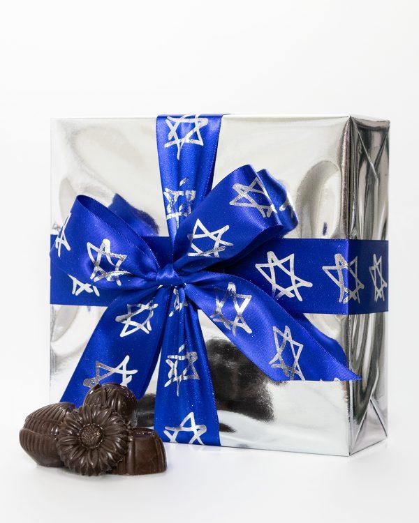 Pareve Boîte-Cadeau Emballée de Chocolats Assortis 400g