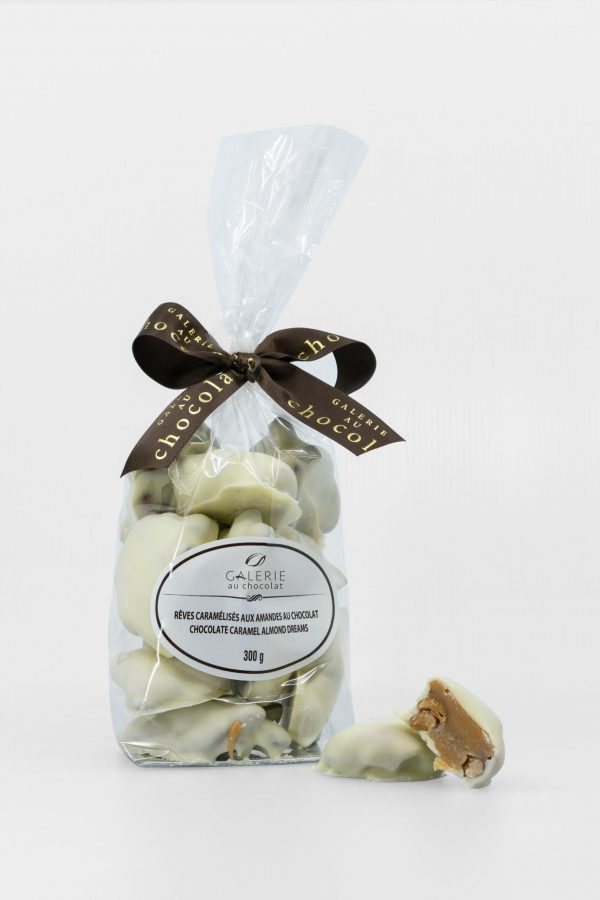 White Chocolate Caramel Almond Dreams 300g