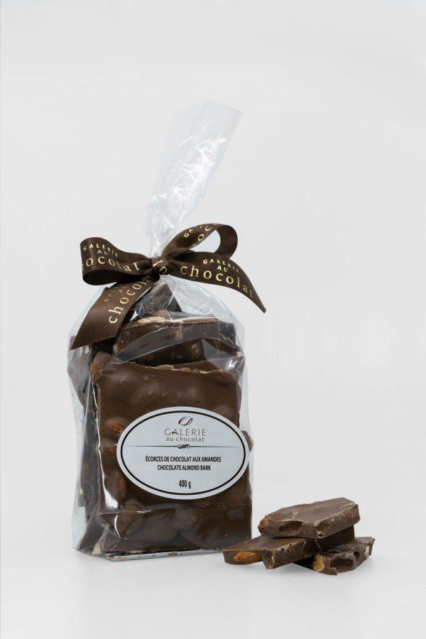 Milk Chocolate Almond Bark 400g