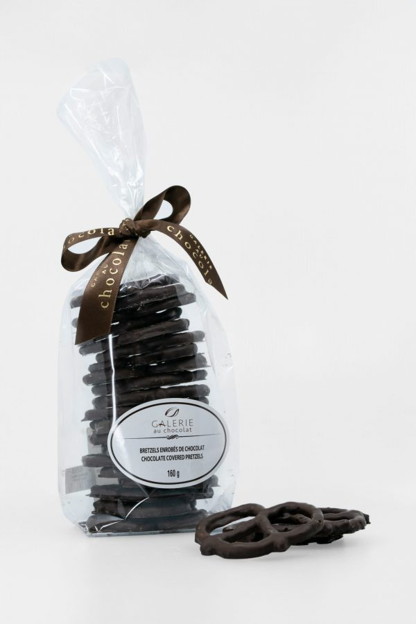 Dark Chocolate Covered Pretzels 160g