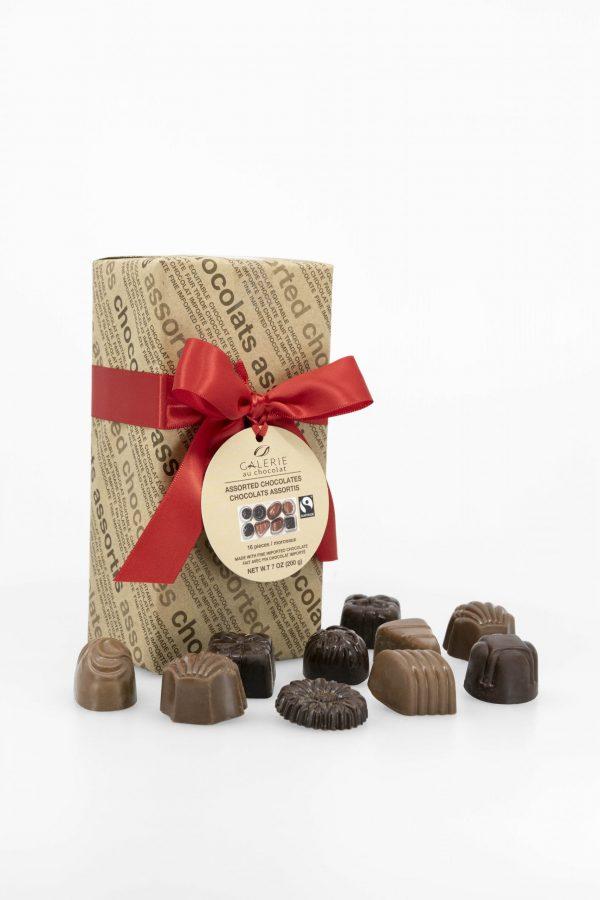 Équitable - Boîte-Cadeau Signature de Chocolats Assortis – 200g
