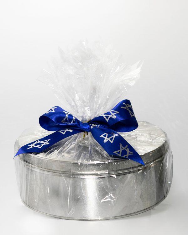 Pareve Boîte-Cadeau - Mélange d'Écorces de Chocolat aux Amandes, Rochers aux Canneberges & Écorces de Chocolat avec Riz Croquant 1kg