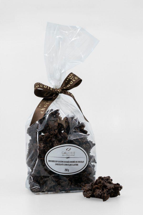 Dark Chocolate Corn Flake Clusters 250g