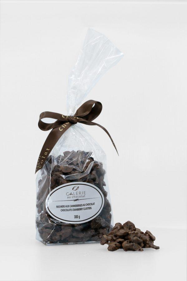 Rochers aux Canneberges au Chocolat au Lait 300g