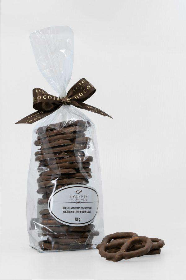 Bretzels Enrobés de Chocolat au Lait 160g