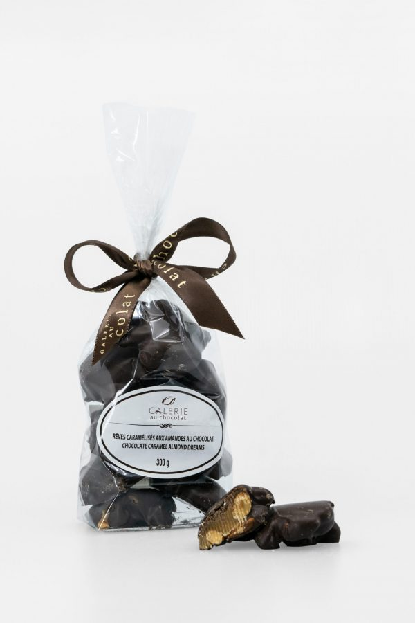 Dark Chocolate Caramel Almond Dreams 300g