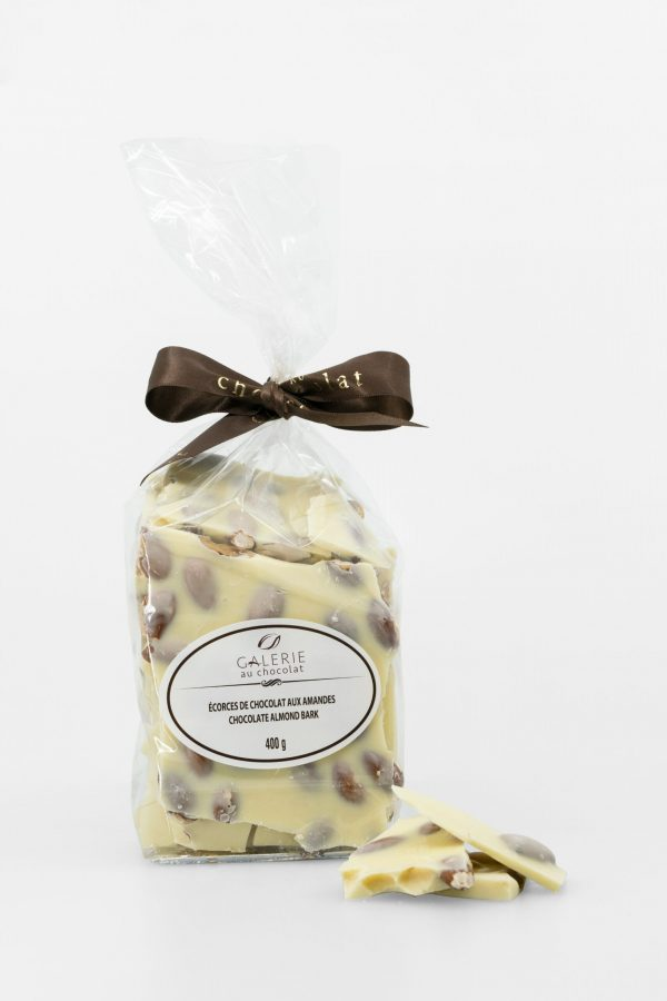 White Chocolate Almond Bark 400g