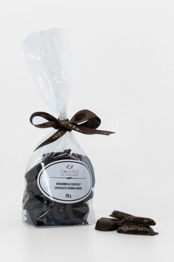 Dark Chocolate Covered Ginger 250g
