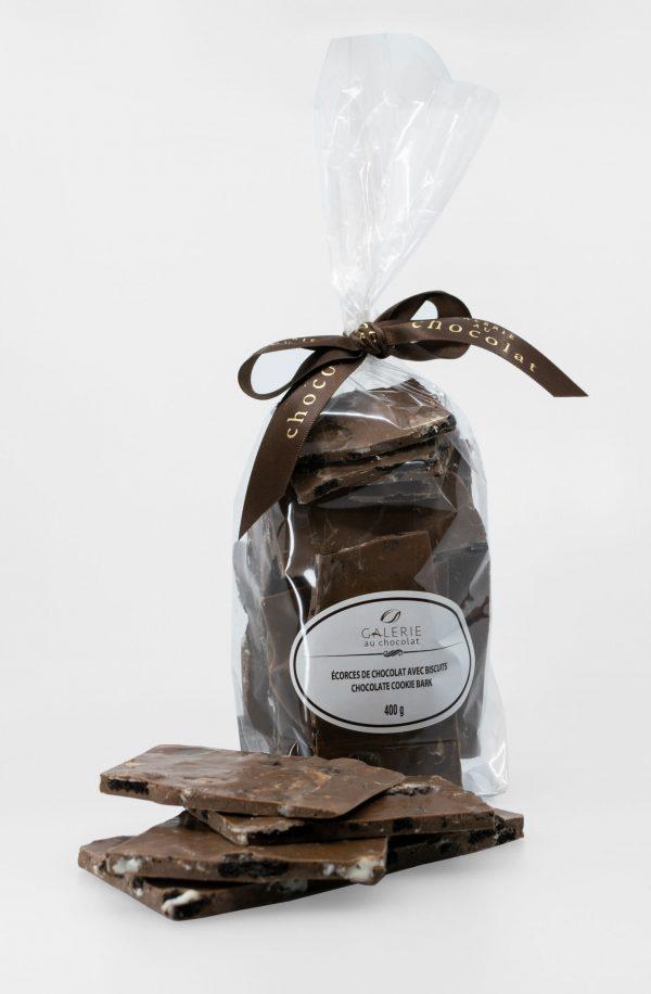 Milk Chocolate Cookie Bark 400g