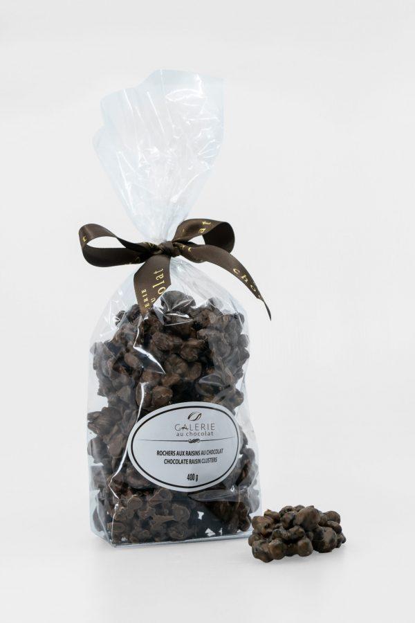 Milk Chocolate Raisin Clusters 400g