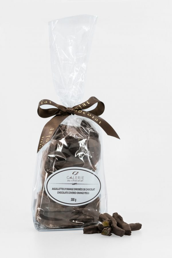 Milk Chocolate Covered Orange Peels 300g