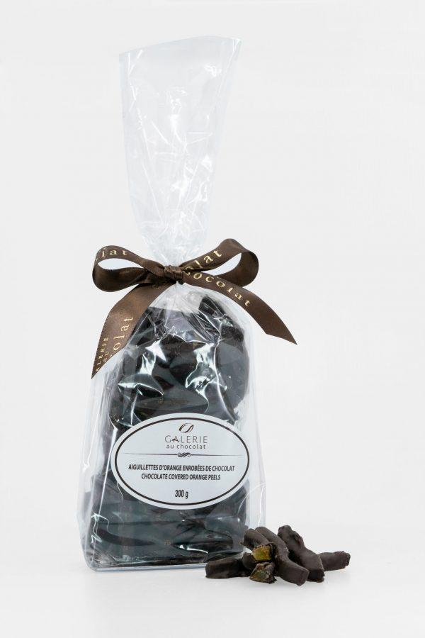 Aiguillettes d'Orange Enrobées de Chocolat Noir 300g