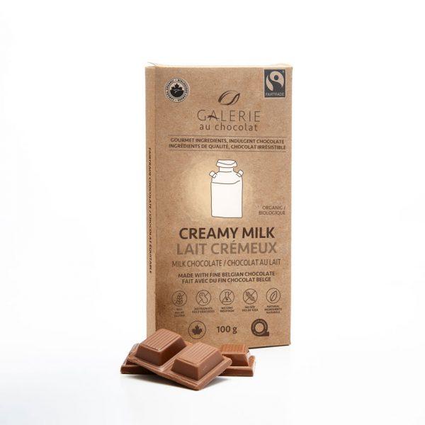 Équitable - Chocolat au Lait 36% Lait Crémeux