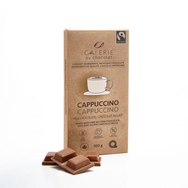 Équitable - Chocolat au Lait Cappuccino