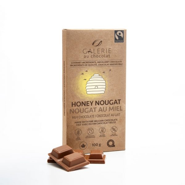 Fairtrade - Milk Chocolate Honey Nougat