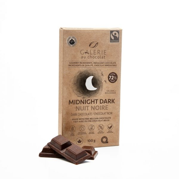 Fairtrade - Dark Chocolate 72% Midnight Dark