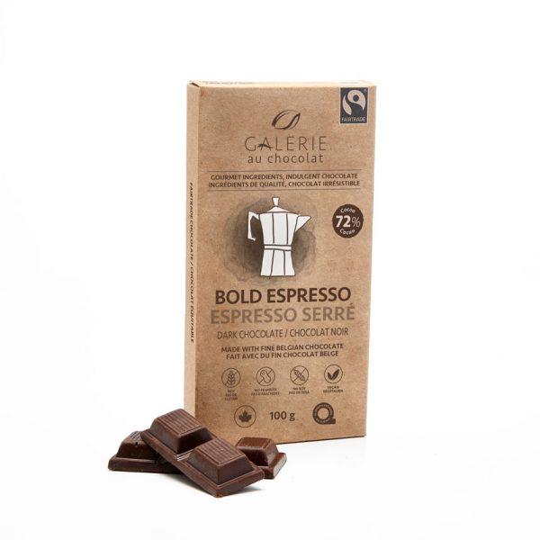 Équitable - Chocolat Noir Espresso Serré