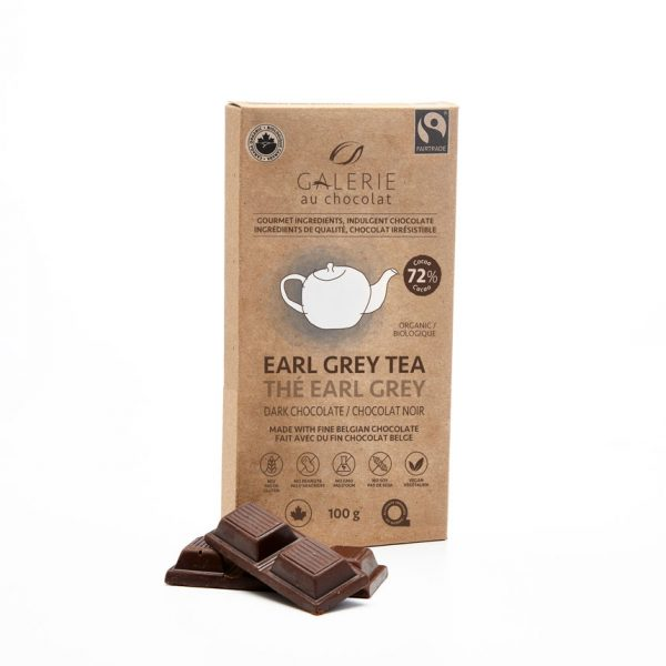 Fairtrade - Dark Chocolate Earl Grey Tea