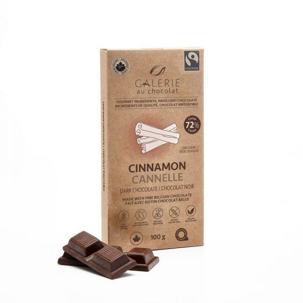 Équitable - Chocolat Noir Cannelle