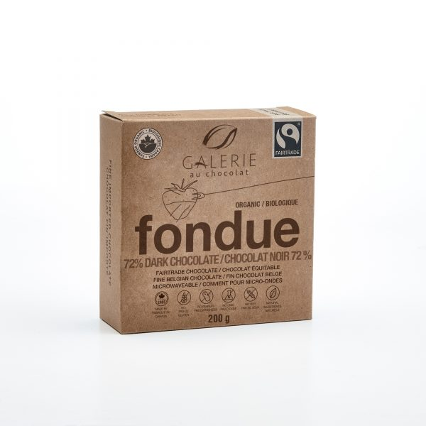 Fairtrade - Dark Chocolate 72% Fondue