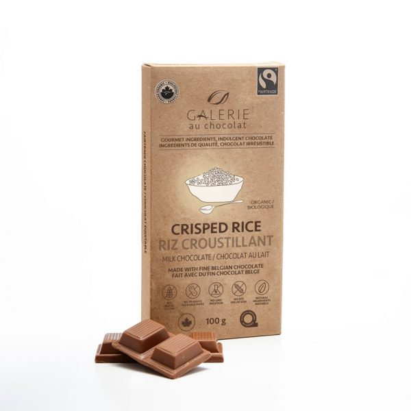 Fairtrade - Milk Chocolate Crisped Rice