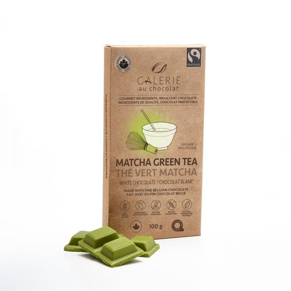 Fairtrade - White Chocolate Matcha Green Tea