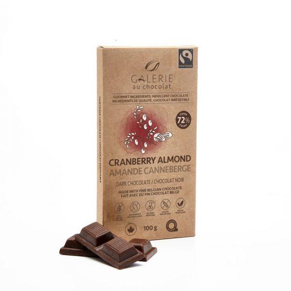 Fairtrade - Dark Chocolate Cranberry Almond