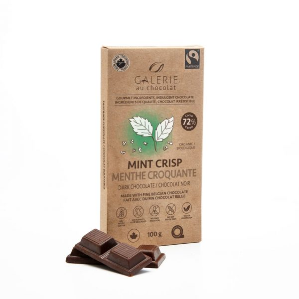 Fairtrade - Dark Chocolate Mint Crisp