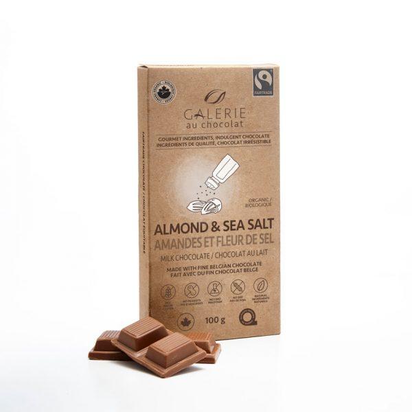 Équitable - Chocolat au Lait Amandes & Fleur de Sel