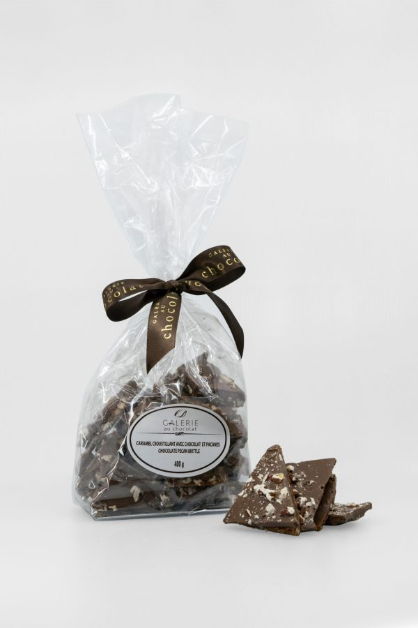 Milk Chocolate Pecan Brittle 400g