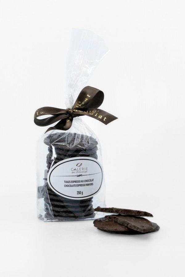 Dark Chocolate Espresso Wafers 250g