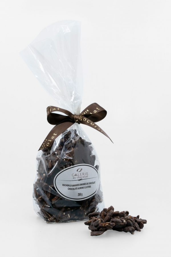 Dark Chocolate Almond Clusters 250g