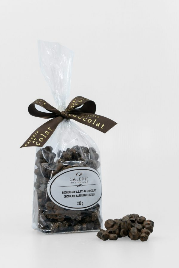 Milk Chocolate Blueberry Clusters 200g
