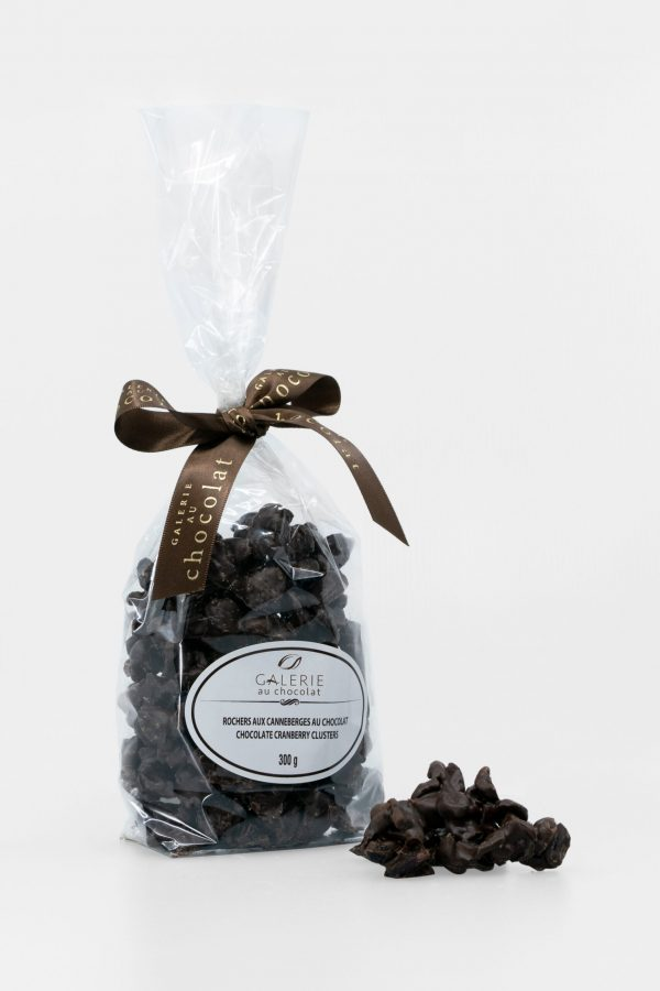 Dark Chocolate Cranberry Clusters 300g