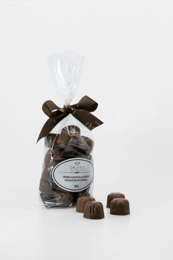 Milk Chocolate Sea Salt Caramels 350g