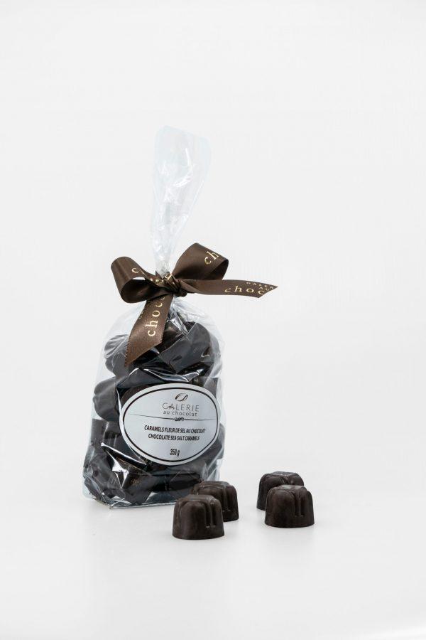 Caramels Fleur de Sel au Chocolat Noir 350g