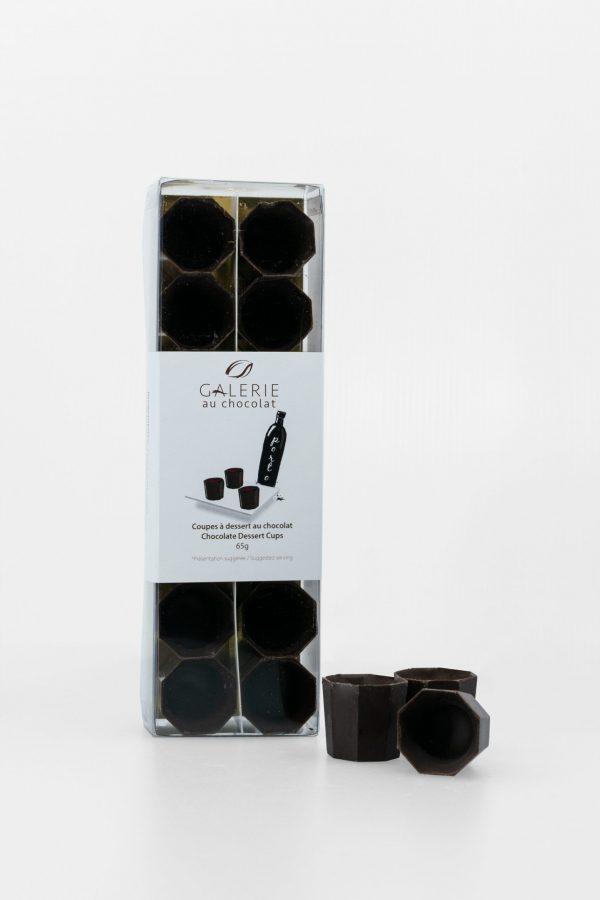Coupes à Dessert Porto au Chocolat Noir (14 pièces) 65g