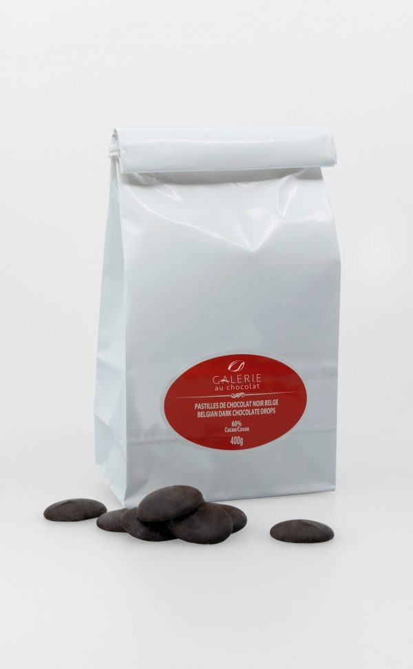 Dark Chocolate 60% Baking Drops 400g