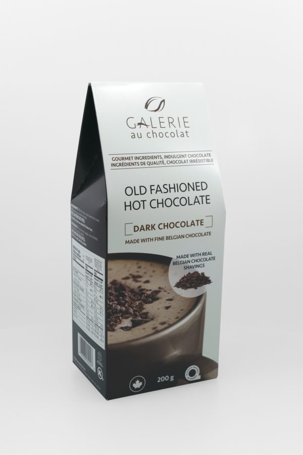 Dark Chocolate 72% Old Fashioned Hot Chocolate
