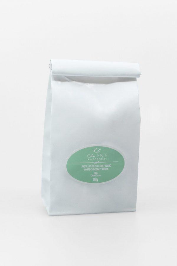 White Chocolate 28% Baking Drops 400g