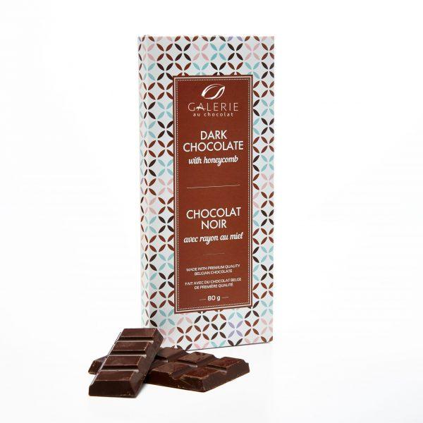 Dark Chocolate with Honeycomb