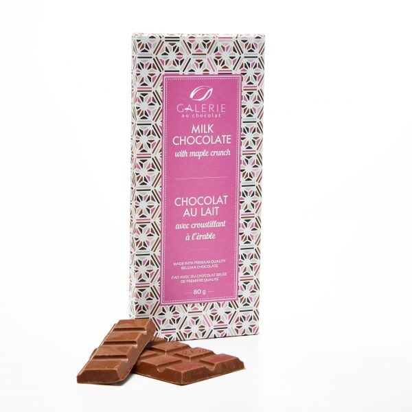 Milk Chocolate with Maple Crunch